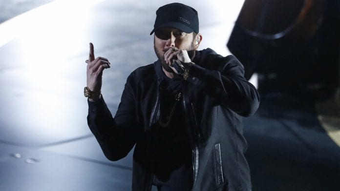Eminem retó a sus seguidores   Foto: El Nacional