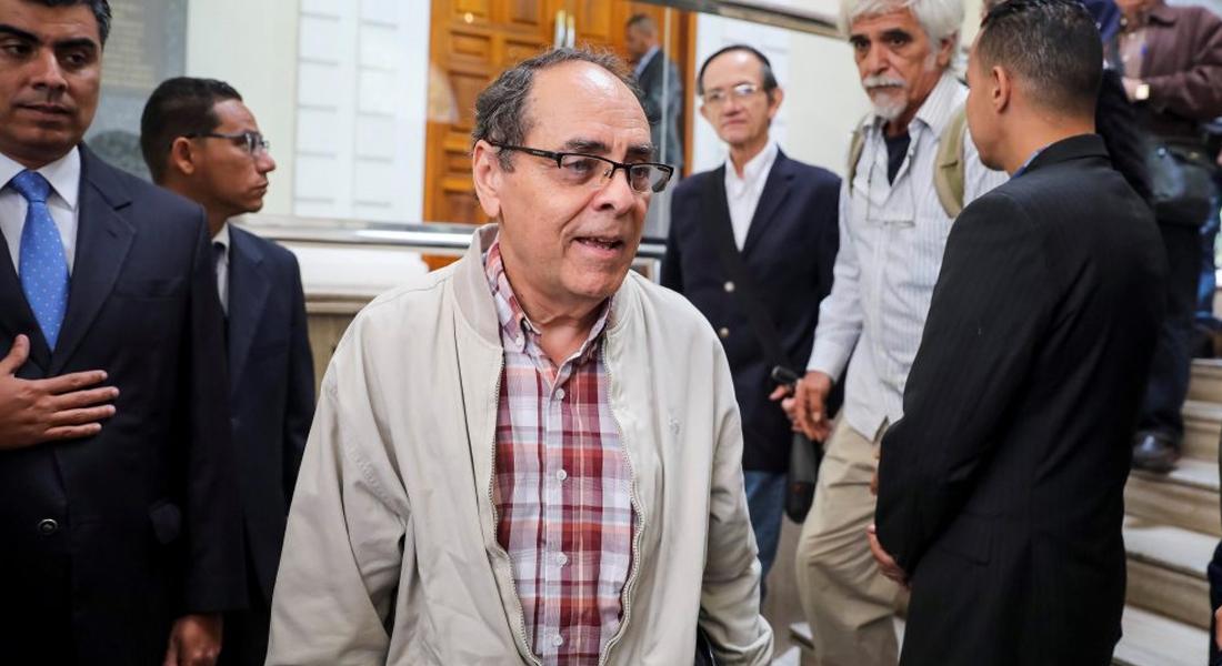 Exministros del chavismo llamaron a votar en próximas elecciones parlamentarias. Foto: EFE