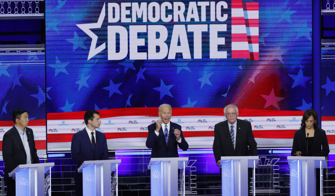 Debate demócrata presidencial