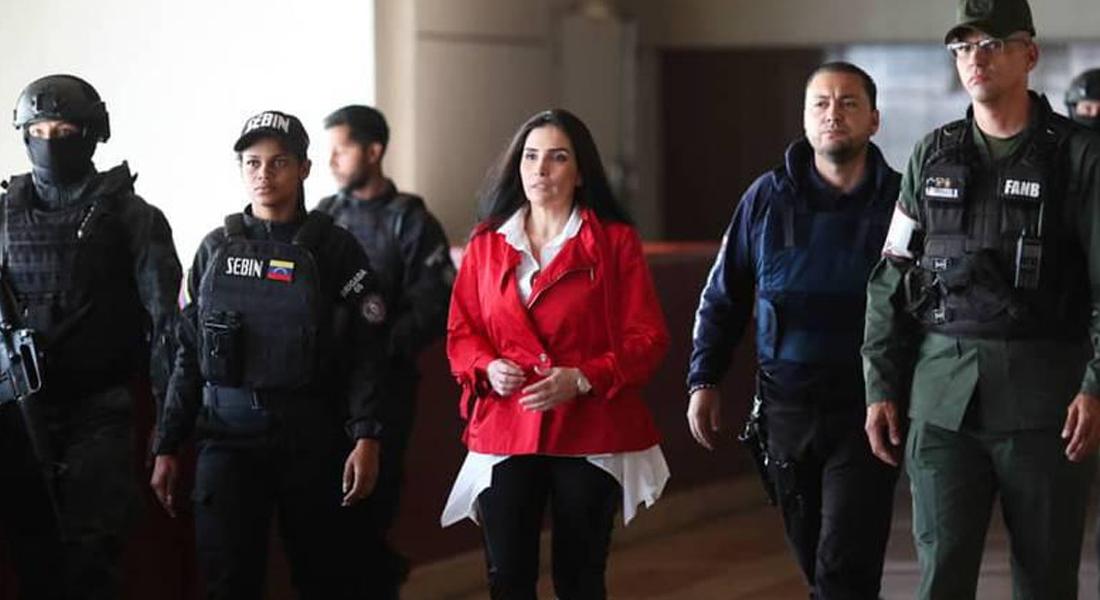 La excongresista Aída Merlano develó un presunto plan para su asesinato en Colombia. Foto: AVN