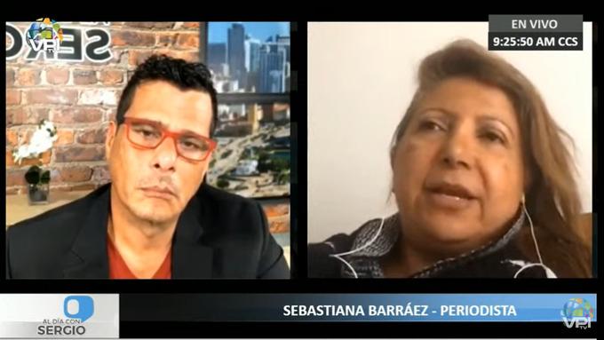 Sebastiana Barráez, milicia | Foto: VPItv