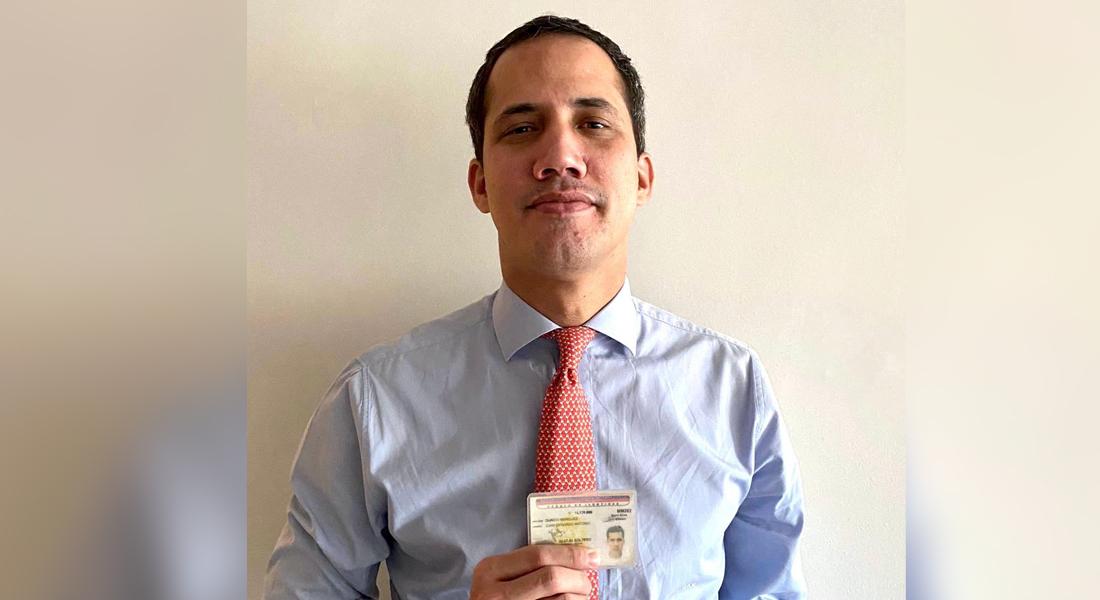 Presidente (E) Guaidó recuperó su cédula tras retención en su llegada al país