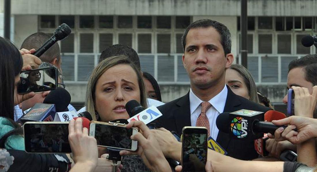 Presidente (E) Guaidó responsabilizó al régimen de Maduro por integridad de Juan José Márquez. Foto: Lisandro Casaña