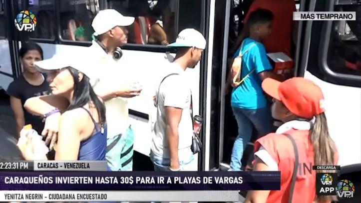 Carnavales 2020 para los caraqueños: hasta 30 dólares para ir a playas de Vargas