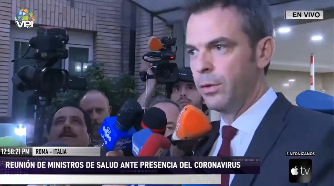 Ministros de Salud europeos se reunieron de urgencia por coronavirus (Covid-19)