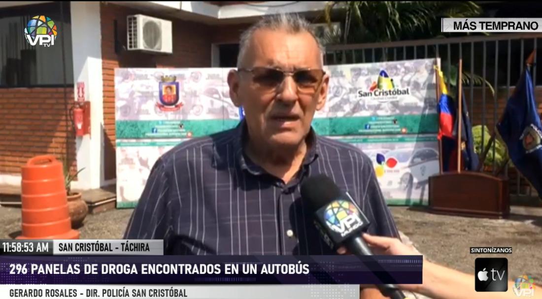 296 panelas de drogas fueron incautadas en terminal de San Cristóbal, edo. Táchira