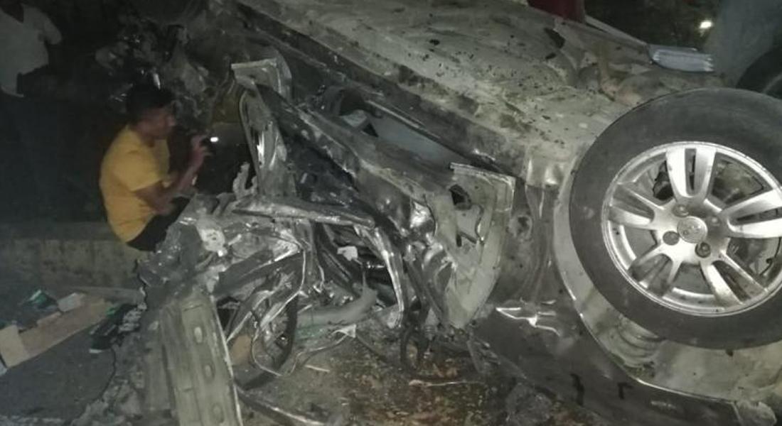 Siete personas murieron tras explosión de un vehículo en Colombia. Foto: AFP