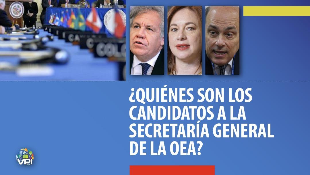 PERFILES | ¿Quiénes son los candidatos a la secretaría general de la OEA?