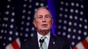 Mike Bloomberg, candidato demócrata