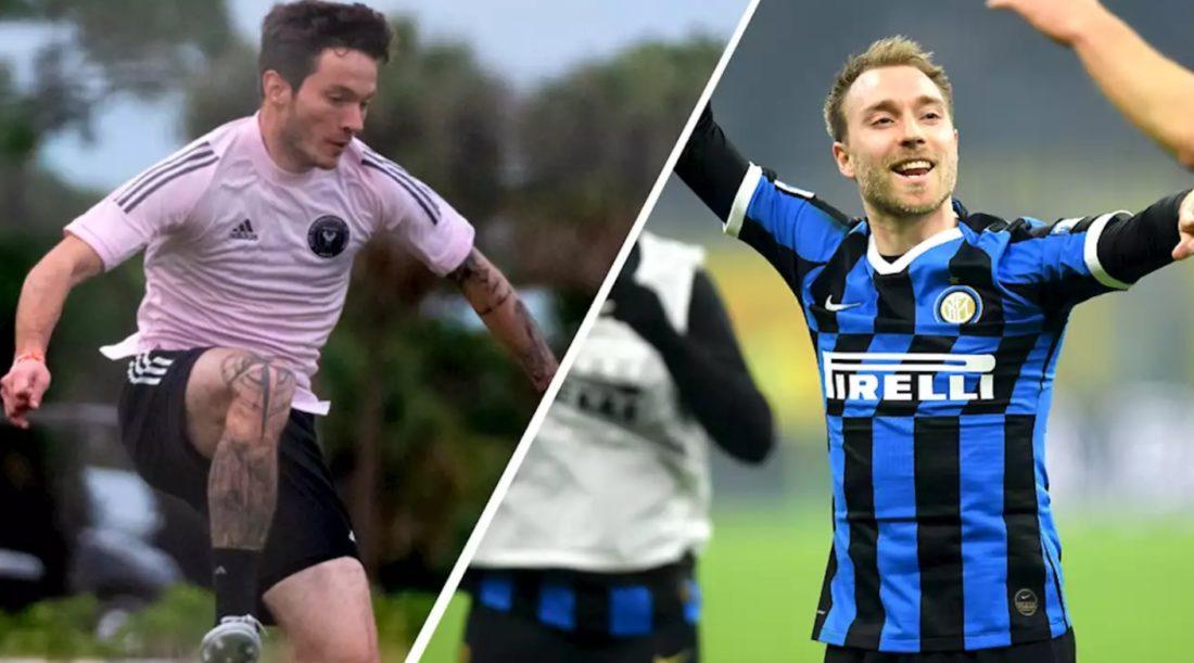 Equipos Inter Miami y Milán
