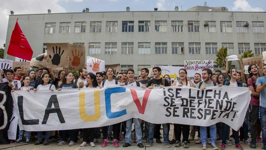 Estudiantes UCV | Foto: Unión Radio