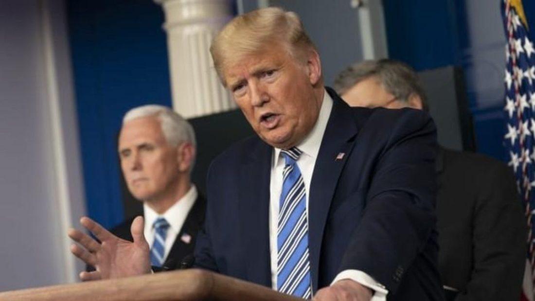 Trump: No será necesaria una cuarentena en Nueva York por COVID-19