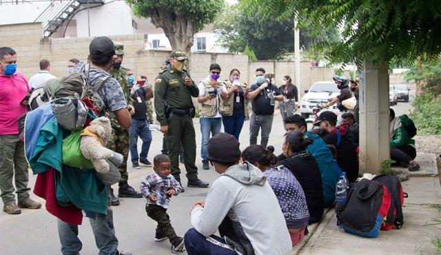 """310 venezolanos se encuentran en Colombia con """"estatus migratorio incierto"""""""