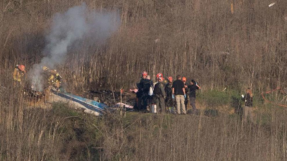 Hasta 8 policías tomaron fotografías del accidente de Kobe Bryant