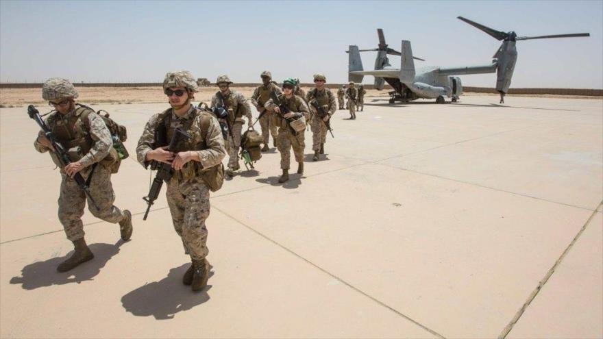 Fuerzas militares estadounidenses de EEUU en Afganistán. Foto: AFP
