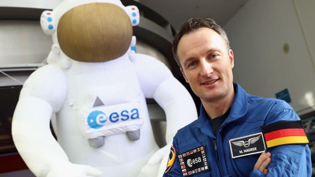 Astronauta alemán Mathias Maurer