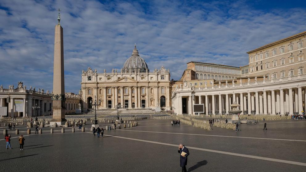 El vaticano suspendió su ambulatorio tras hallar un caso de coronavirus | Foto: Cortesía