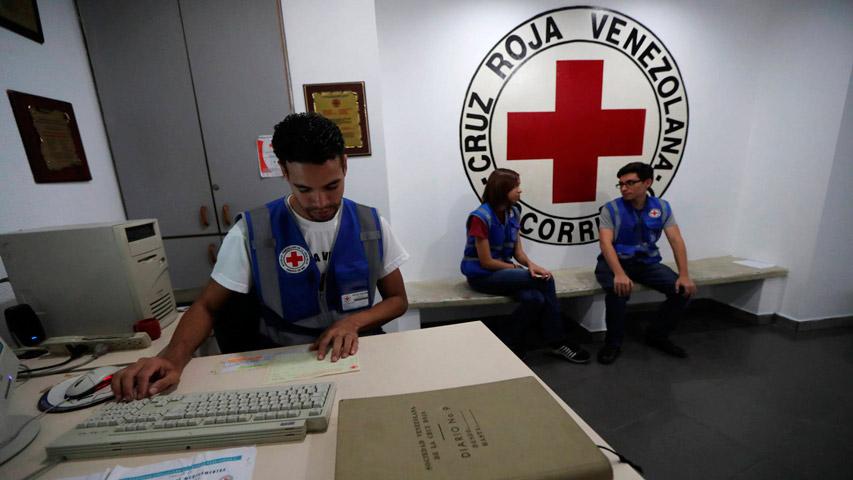 Cruz Roja Venezolana negó detención de su personal | Foto: Cortesía