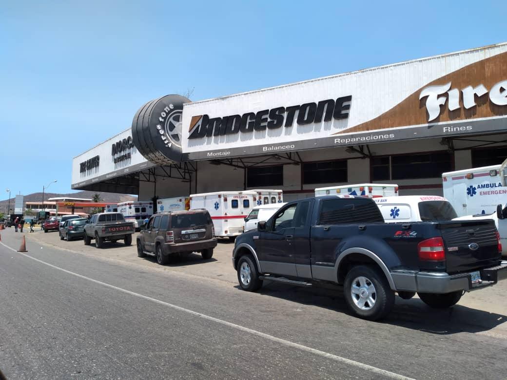 Trabajadores de la Salud en Anzoátegui denuncian que solo le suministran 20 litros de gasolina