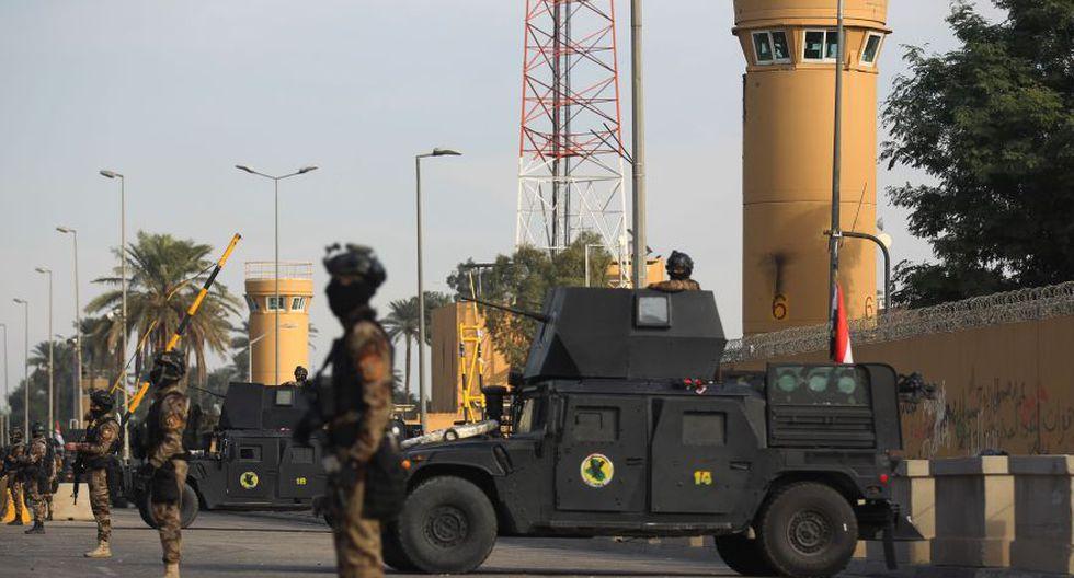 Dos cohetes impactaron cerca de 'Zona Verde' en Irak