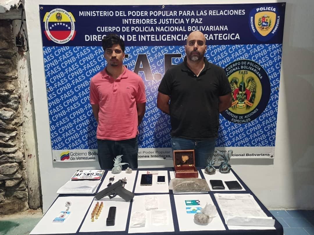Miembros de la presidencia (E) fueron imputados por presunta tenencia de narcóticos