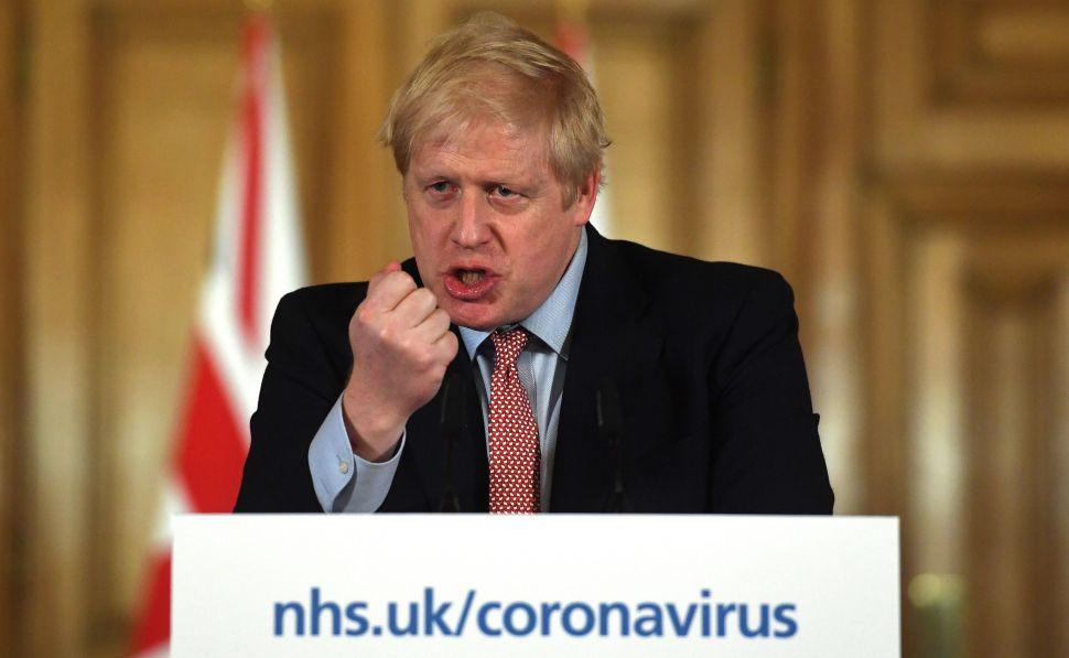 Primer ministro de Reino Unido, Boris Johnson. Foto: NHS UK