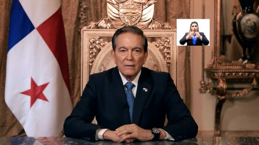 Laurentino Cortizo, presidente de Panamá, decretó cuarentena total luego de 8 muertes y 443 contagios de COVID-19