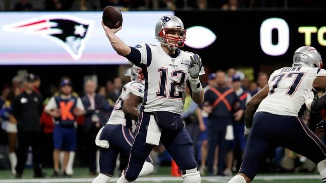 Tom Brady, nuevo quaterback de los Bucaneers
