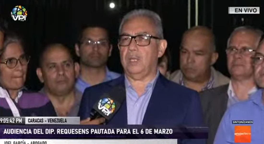 Audiencia de Juan Requesens quedó suspendida para el 6 de marzo