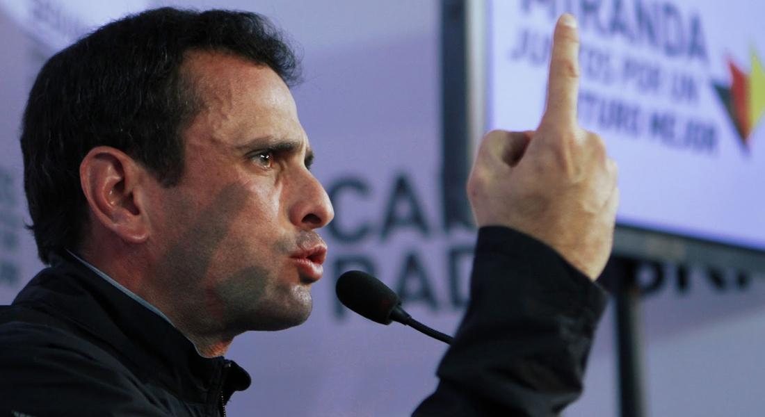 """Capriles tildó de """"poco seria"""" la solicitud de Maduro al FMI"""