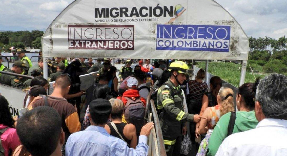 Colombia cerrará la frontera con Venezuela para prevenir coronavirus