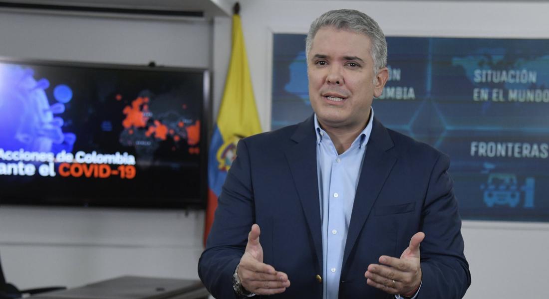 Duque declaró estado de emergencia en Colombia y aislamiento a mayores de 70 años