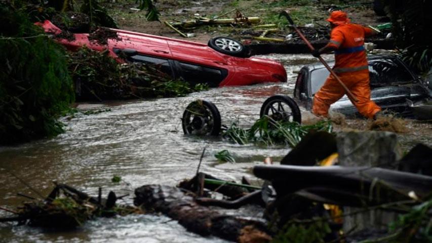 Diez muertos y cinco desaparecidos por fuertes lluvias en Sao Paulo | Foto: Unión Radio