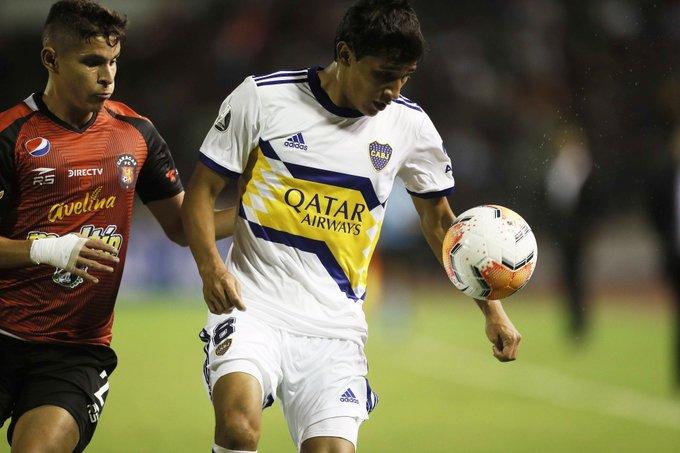 Caracas FC sacó un empate a Boca Juniors en debut de Copa Libertadores