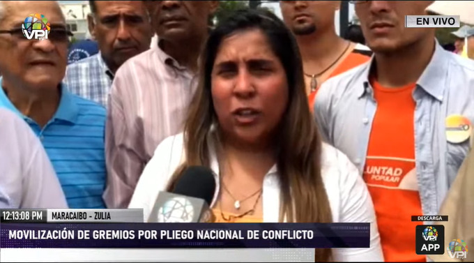 Desiree Barboza, diputada en Zulia