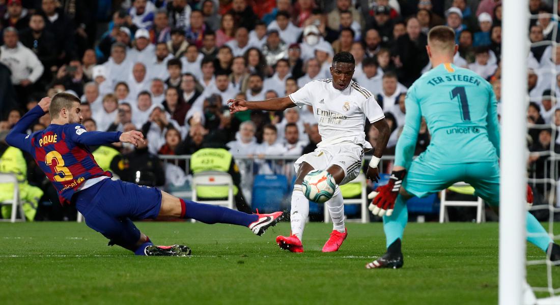 El Real Madrid recuperó la cima de La Liga tras derrotar al Barcelona