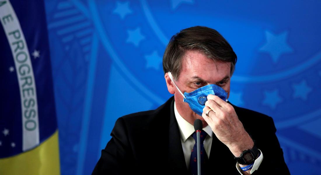 Facebook eliminó publicaciones de Jair Bolsonaro por desinformar sobre el covid-19
