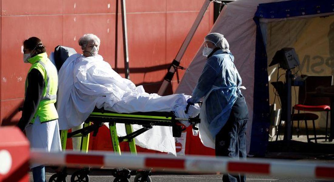 Francia superó las 3.500 muertes a causa del covid-19