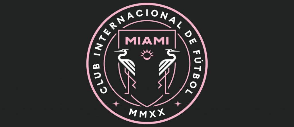 Emblema del Inter Miami FC (EEUU) para promover aislamiento social y combatir COVID-19