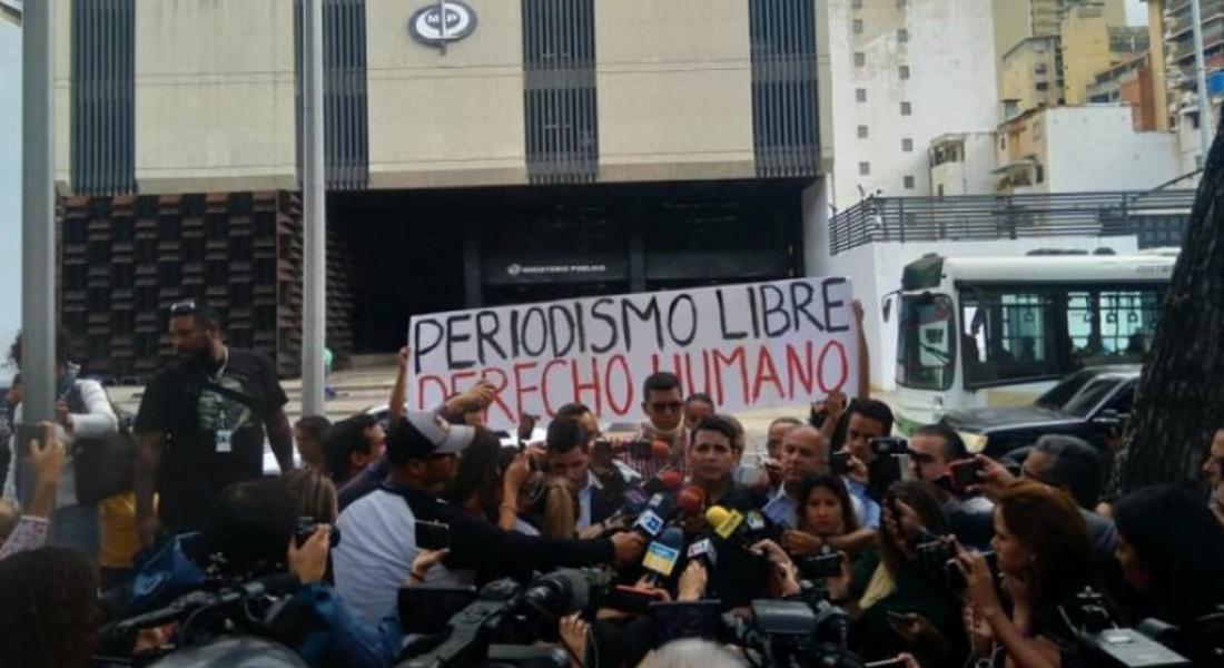 IPYS Venezuela: Trabajadores de la prensa sufrieron agresiones en primer día de cuarentena