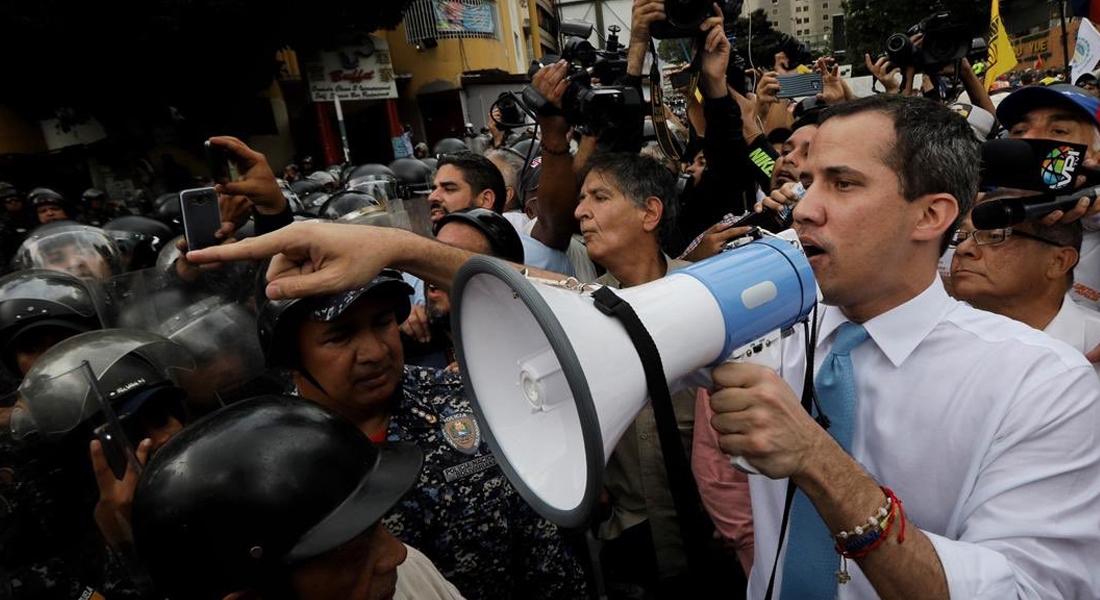 Presidente (E) Guaidó destacó la valentía de quienes marcharon este 10 de marzo