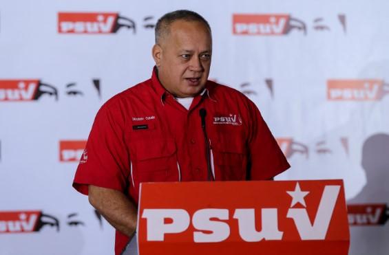 """Diosdado Cabello sobre quema de galpón del CNE: Habrán elecciones parlamentarias y nadie lo va a impedir"""""""