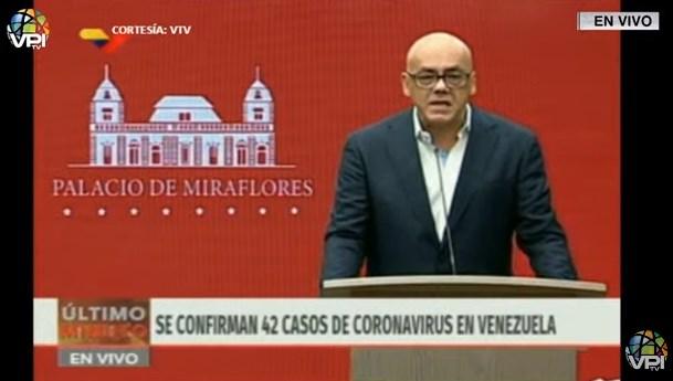Seis nuevos contagios: 42 casos de COVID-19 en Venezuela