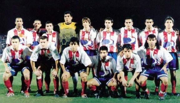 Último alineación de Estudiantes de Mérida en una Copa Libertadores (1999)