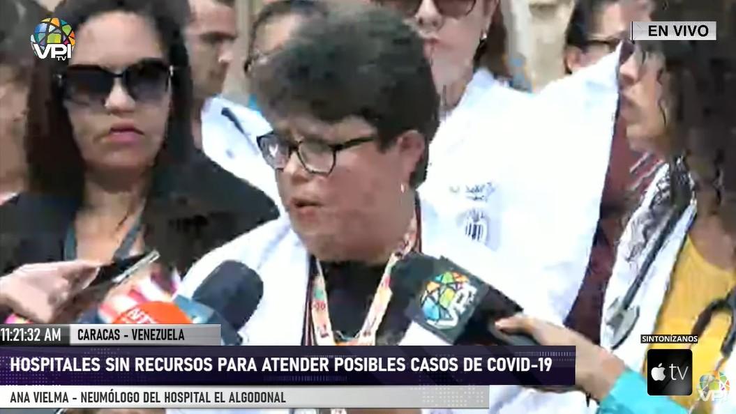 Hospitales en Caracas no cuentan con medidas sanitarias ni insumos para atender coronavirus (Covid-19)