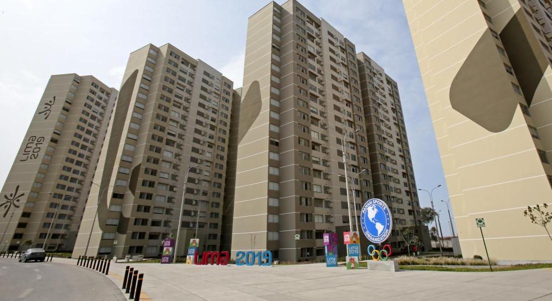 Villa de los Juegos Panamericanos en Lima será habilitada para pacientes de covid-19