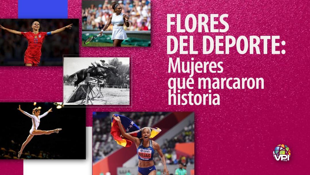 Flores del deporte: Mujeres que marcaron historia