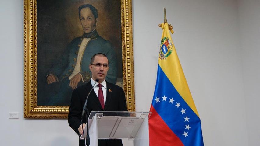 Canciller de Nicolás Maduro | Foto: Unión Radio