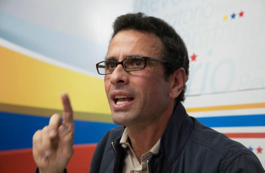 Henrique Capriles alertó situación de crisis en el J. M. de Los Ríos