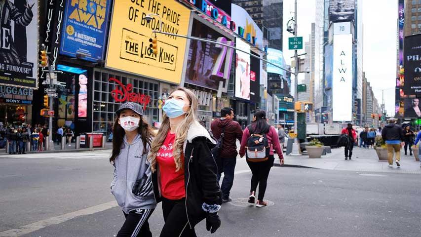 EEUU empezó a convertirse en el foco central de la pandemia | Foto: Cortesía